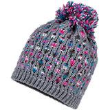 Mütze für Mädchen mit Pompon
