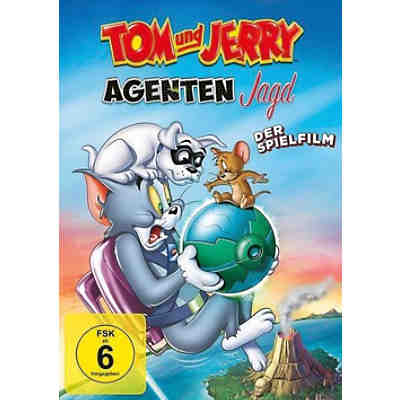 DVD Tom & Jerry: Agentenjagd