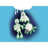 MyArts 30602 Glowing Ghosts Bügelperlen-Set Geister