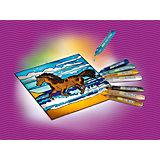 MyArts 30702 Suncatcher Bastelset Fensterbild Pferd