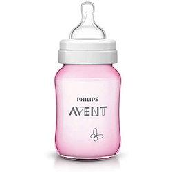 Бутылочка для кормления Бабочка 260мл, Avent