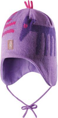 Шапка для девочки Reima - фиолетовый