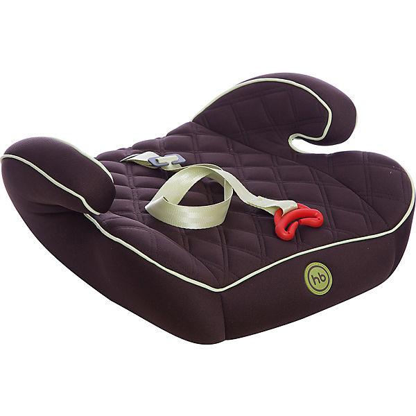 Автокресло-бустер Happy Baby Booster Rider, 15-36 кг, коричневый