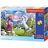 Puzzle 180 Teile - Einhorn