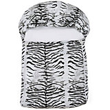 Спальный мешок Белый тигр, Leader Kids, белый