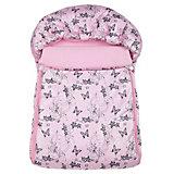 Спальный мешок Бабочки, Leader Kids, розовый