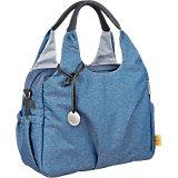 Wickeltasche Greenlabel, Global Bag Ecoya, blue