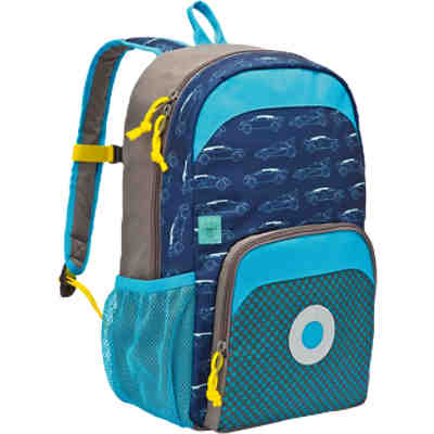 Kindergarten Rucksack 4kids, Mini Backpack Big, Cars navy