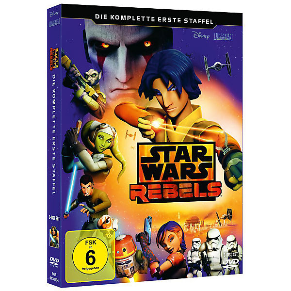 DVD Star Wars Rebels 01