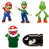Nintendo Mini Figur - 5er Pack (6cm)