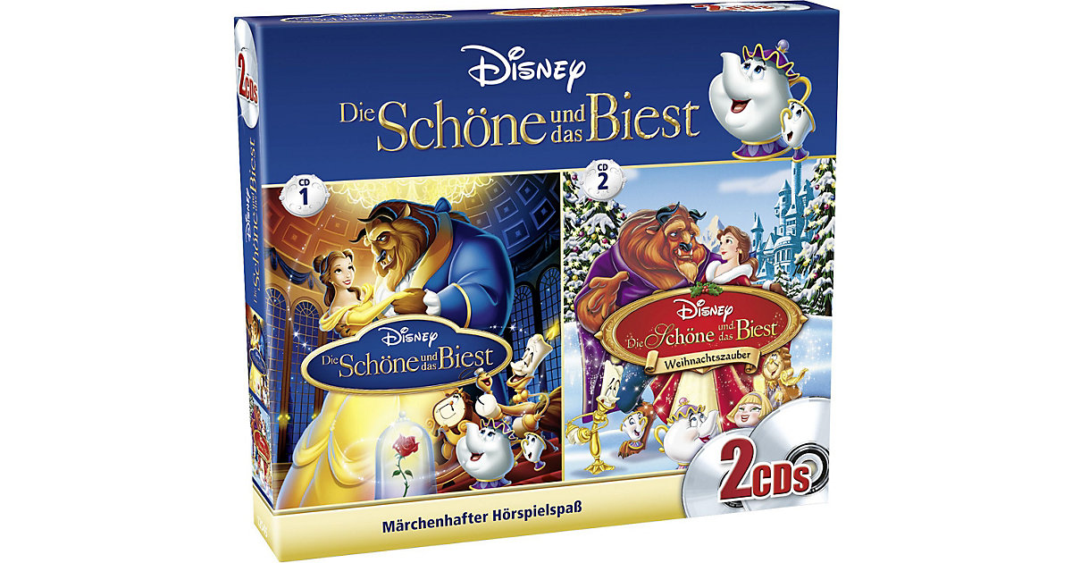 CD Disney Die Schöne und das Biest - Box Hörbuch