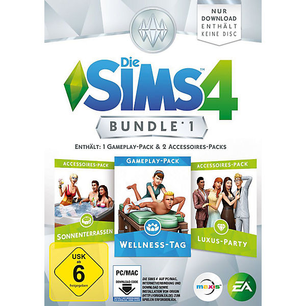 PC Die Sims 4 - Bundle Pack 1