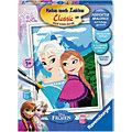 Elsa und Anna Malen nach Zahlen Serie Charakter 18 x 24 cm