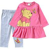 DISNEY WINNIE PUUH Baby Set Kleid + Leggings für Mädchen