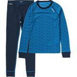 ODLO Kinder Unterwäsche-Set: Langarmshirt + lange Unterhose