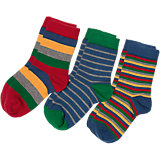 KITE KIDS 3er Pack Socken für Jungen Organic Cotton