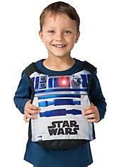R2D2-Kostüm Westenrucksack 2 in 1 Star Wars