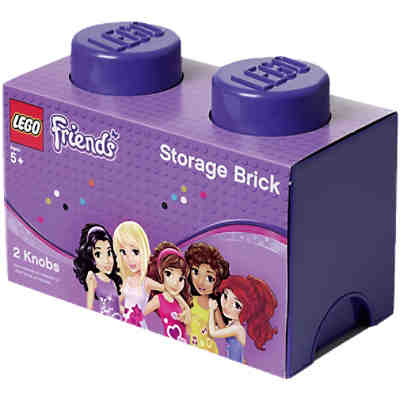 Lego Friends Storage Brick 2er Stein lila