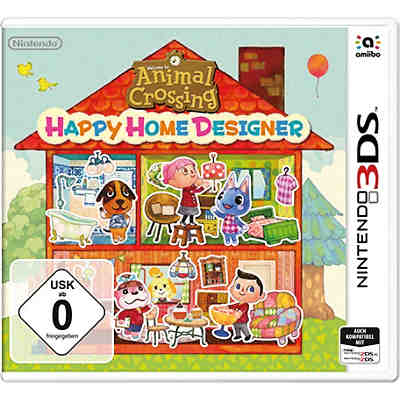 3DS Animal Crossing: Happy Home Designer