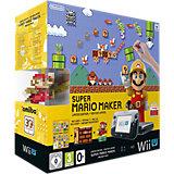 Wii U Premium Pack Mario Maker Edition, schwarz