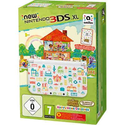 New Nintendo 3DS XL Konsole + Animal Crossing HHD