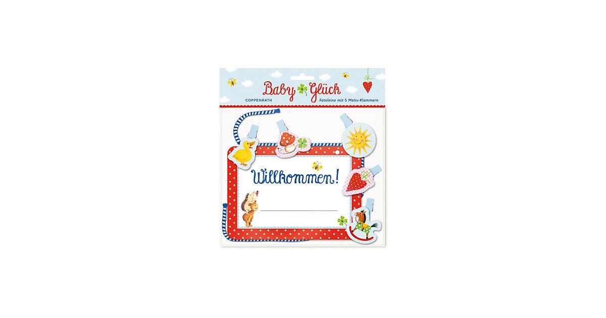 Buch - BabyGlück Fotoleine: Willkommen!