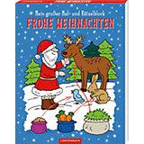Mein großer Mal- und Rätselblock Frohe Weihnachten