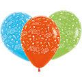Luftballons mit Druck Schulanfang