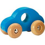 Holz-Auto, blau