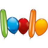 Luftballons versch. Farben und Formen, 150 Stück