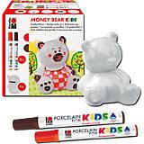 Porcelain For Kids Set Spardose Money Bear