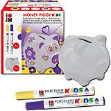 Porcelain For Kids Set Spardose Money Piggy
