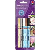 Brilliant Painter Dekormarker, 5 Farben