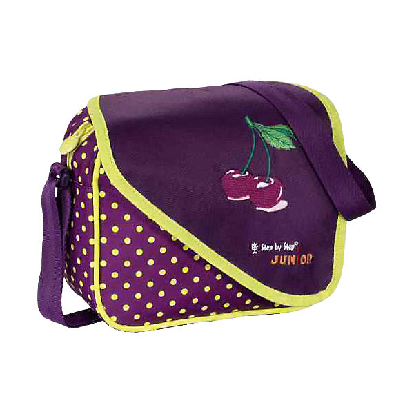 Step by Step Junior Kindergartentasche Alpbag Purple Cherry