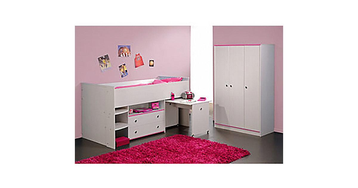 hochbett mit schreibtisch und kleiderschrank hochbett mit. Black Bedroom Furniture Sets. Home Design Ideas