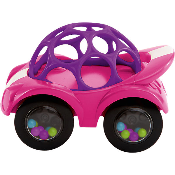 Oball Rattle & Roll Auto, pink
