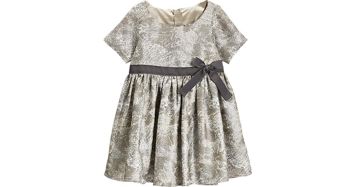 NEXT Kinder Kleid silber Gr. 98/104 Mädchen Kleinkinder