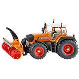 SIKU 3660 Traktor mit Schneefräse 1:32