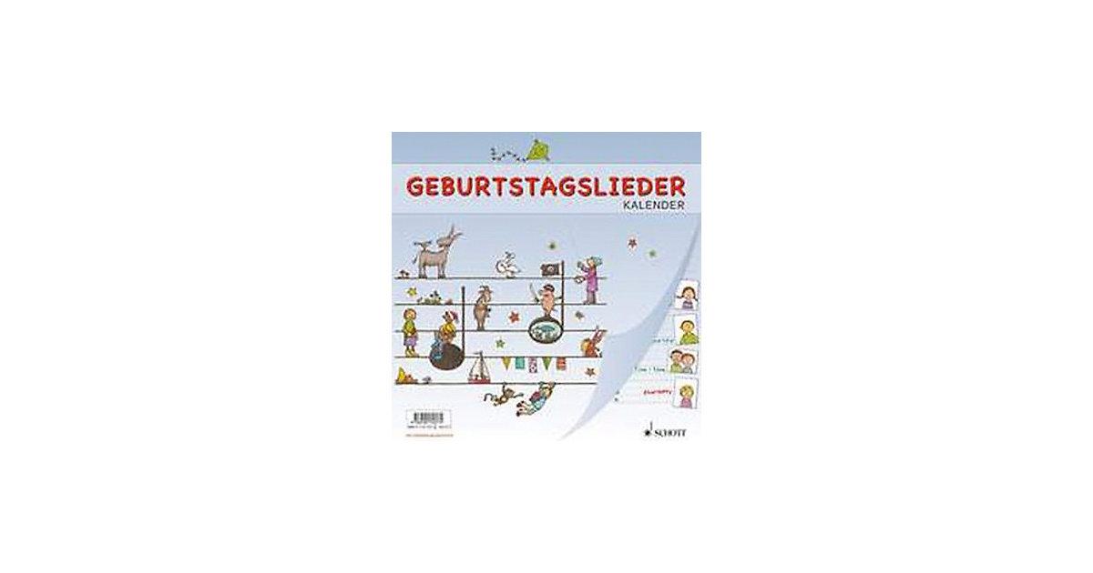 Buch - Geburtstagslieder Kalender