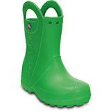 Резиновые сапоги Kids' Handle It Rain Boot Crocs, зеленый