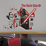Wandsticker Star Wars Das Erwachen der Macht, Darth Vader, 6-tlg.