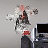 Wandsticker Star Wars Das Erwachen der Macht, Villain, 3-tlg.