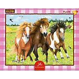 Rahmenpuzzle Die fröhliche Ponybande Mein kleiner Ponyhof, 24 Teile