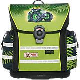 Schulranzenset ERGO Light 912 Greentrac mit Blinkfunktion, 4-tlg.