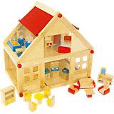Puppenhaus inkl. Möbel