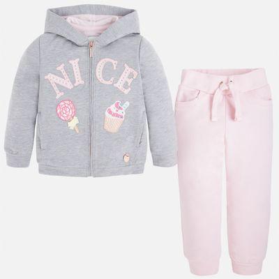 Спортивный костюм для девочки Mayoral - розовый