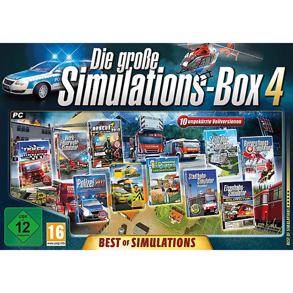 PC Die große Simulations-Box 4: Best of Simulations (