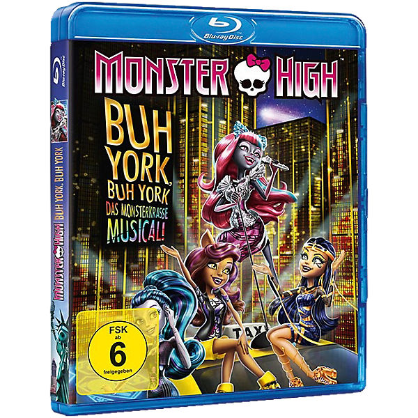BLU-RAY Monster High - Buh York, Buh York