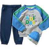 adidas Performance Baby Jogginganzug + Mütze für Jungen
