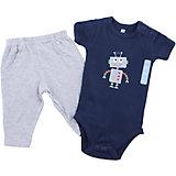 Комплект для мальчика: боди и штанишки для мальчика Hudson Baby